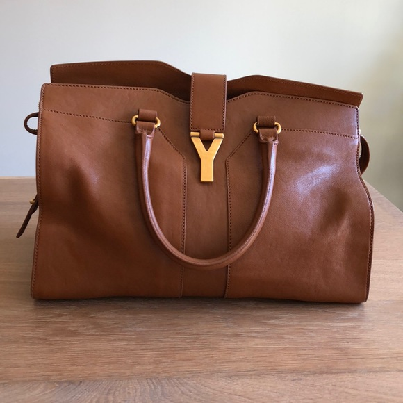 70b6385348 Yves Saint Laurent Bags | Ysl Cabas Chyc Bag Medium | Poshmark